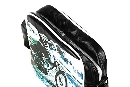 Tracolla bianca bandoliera F467 borsa borsello CARRERA Tracolla nera uomo uomo ZSwZqHv