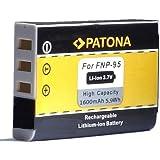Bundlestar Qualitätsakku für Fujifilm NP-95 (1600mAh neueste Generation) zu Fujifilm Finepix X30 X70 X-S1 X100s X100 X100T F30 F31 usw (100% kompatibel zum Original)