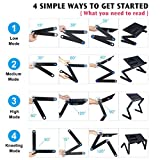 Armyte Adjustable Laptop Stand Multi-Angle with