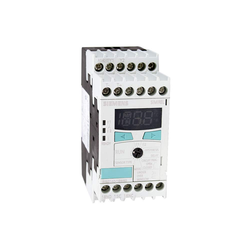 Siemens | 3RS2140-1GW60 | Temperature Monitoring Relay Thermocouple (Renewed) by SIEMENS
