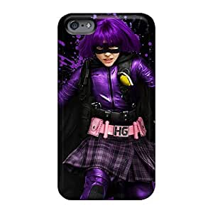 Shock Absorption Hard Phone Cover For Apple Iphone 6 With Unique Design High-definition Kick Ass 2 Hit Girl Skin RandileeStewart