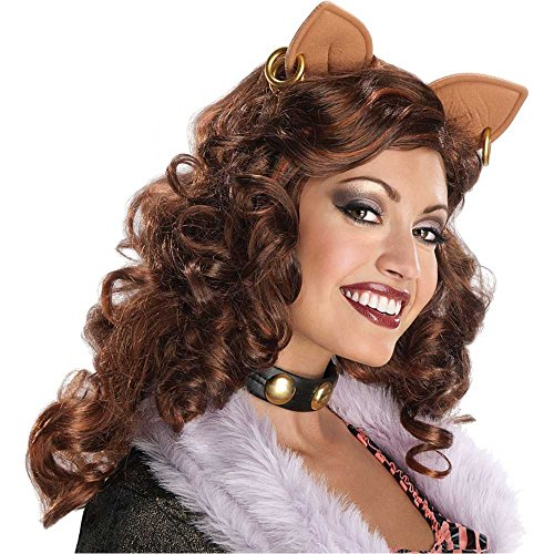 [Clawdeen Wolf Wig Costume Accessory] (Clawdeen Wolf Costumes With Wig)