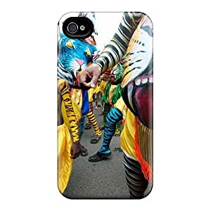 Shock Absorption Hard Cell-phone Case For Iphone 4/4s With Customized HD Rise Against Skin KevinCormack