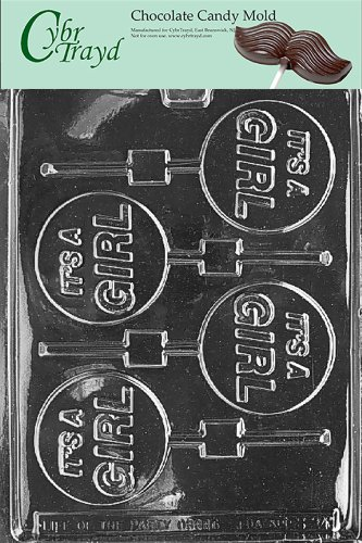 (it's a Girl Lollipop Chocolate Candy Mold [Kitchen])