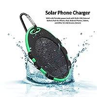 Solar Phone Charger, CarePedia 5000 mAh ...