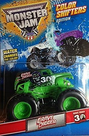 Hot Wheels Monster Jam Fahrzeuge Edition Color Shifters Verandern Im Wasser Ihre Farbe Amazon De Spielzeug