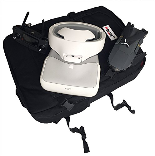 Made in Germany mont/ées Sac /à Dos pour DJI Goggles et DJI Mavic Pro avec Un Espace pour 4 Batteries et Accessoires Fait pour MC Cases
