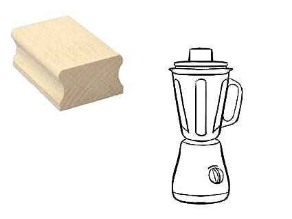 Sello sellos de madera diseño sello « Licuadora » Scrapbooking ...