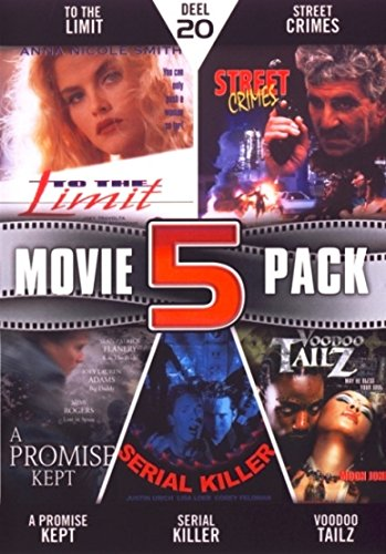 Movie 5 Pack Collection (Part 20) ( To the Limit / Street Crimes / The Gunman (A Promise Kept) / Serial Killing 4 Dummys (Serial Killer) / Voodoo Ta [ NON-USA FORMAT, PAL, Reg.2 Import - Netherlands ]