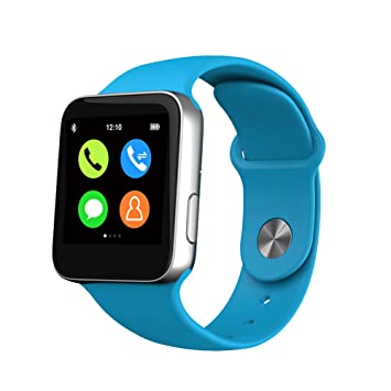 Bluetooth reloj inteligente Android reloj relojes reloj de pulsera Smartwatch para IOS Android Xiaomi Smartphone Wearable dispositivos: Amazon.es: ...