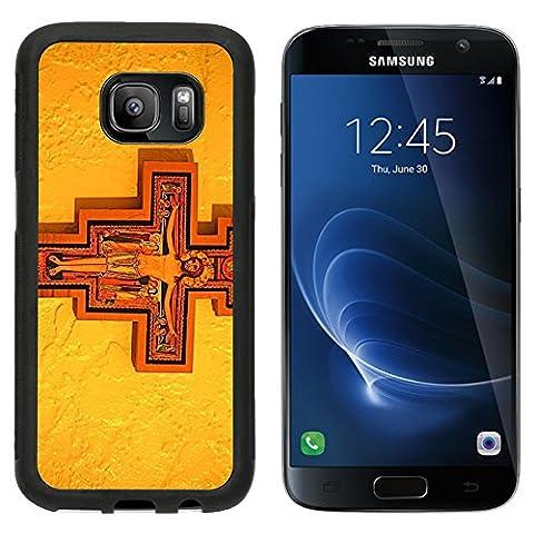 MSD Premium Samsung Galaxy S7 Aluminum Backplate Bumper Snap Case IMAGE ID: 4121815 San Damiano - Franciscans San Damiano
