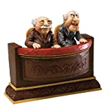 Enesco Disney Traditions designed by Jim Shore Waldorf & Statler Muppet Show Figurine 5.25 IN