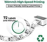 MUNBYN Label Printer, 150mm/s 4x6 Desktop USB