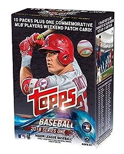 Topps 2018 Baseball Cards Series 1 Baseball Mass Value Box (Factory Sealed)