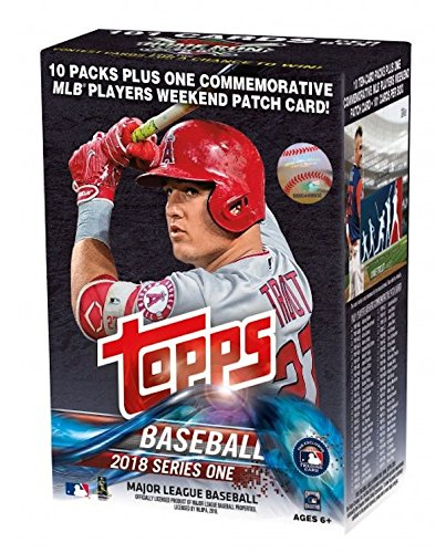 Topps 2018 Baseball Cards Series 1 Baseball Mass Value Box (Factory Sealed)
