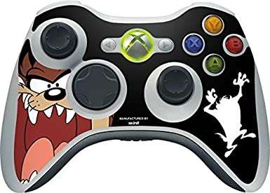 Looney Tunes Xbox 360 Wireless Controller Skin - Taz Vinyl Decal ...
