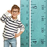 Growth Chart Art   Wooden Growth Chart Ruler for Boys + Girls   Growth Chart Ruler Kids Height Chart   Robin's Egg Teal Blue Wood Ruler with Inches/Centimeters