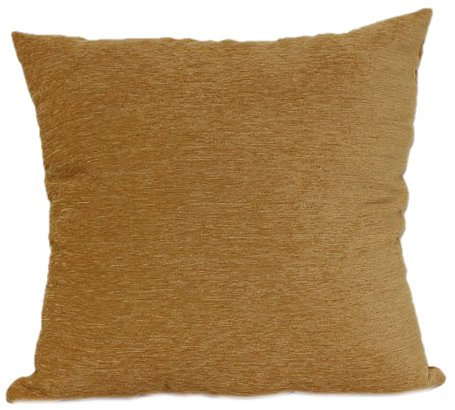 Brentwood 3438 Crown Chenille Floor Cushion, 24-Inch, Gold (Cushions Brentwood)