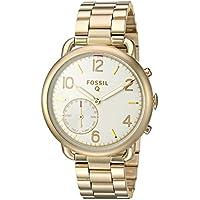 Women's 'Q Tailor' Quartz Stainless Steel Smart Watch, Color:Gold-Toned (Model: FTW1144)