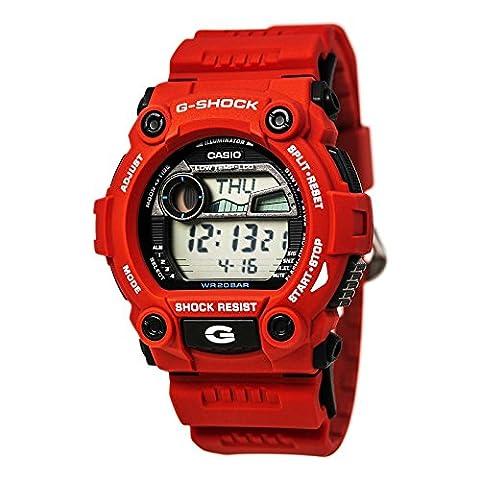Casio Men's G7900A-4 G-Shock Rescue Red Digital Sport Watch (Mens Digital Sports Watch G Shock)