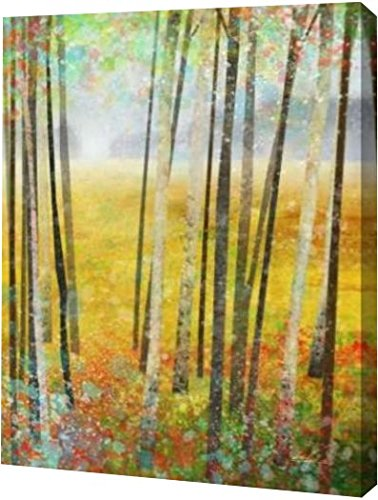 "Autumn Meadows 2 by Ken Roko - 13"" x 16"" Gallery Wrapped Giclee Canvas Art Print - Ready to Hang"