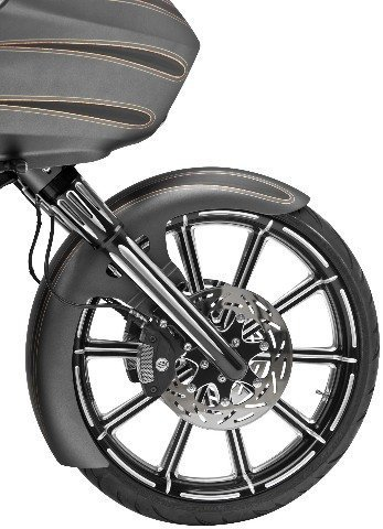 Arlen Ness 06-511 Black Hot Legs Fork Leg Set