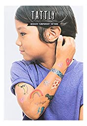 Tattly Temporary Tattoos Kids Mix, 1 Ounce