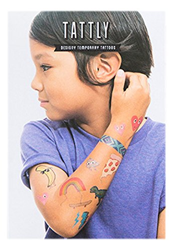 c65c0ad99 Tattly Temporary Tattoos Kids Mix One, 1 Ounce - Buy Online in UAE ...