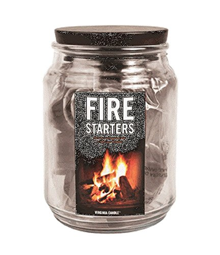 Fragrant Wax Fire Starters, 22 Inividual Cups of Parafin
