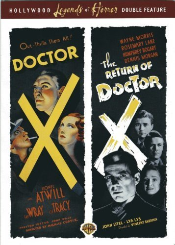 UPC 012569792784, Doctor X (1932) & the Return of Doctor X (1939) - Authentic Region 1 DVD From Warner Brothers Starring Humphrey Bogart, Lionel Atwill, Fay Wray, Lee Tracy, Preston S Foster, Rosemary Lane, Dennis Morgan, John Litel, Huntz Hall & Directed By Michael Curtiz and Vincent Sherman.