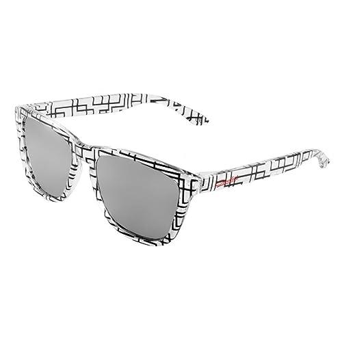 Gafas de Sol, Crooked Gafas de Sol Unisex Ltd-Edition Polarizadas con 100% Prtección UV400