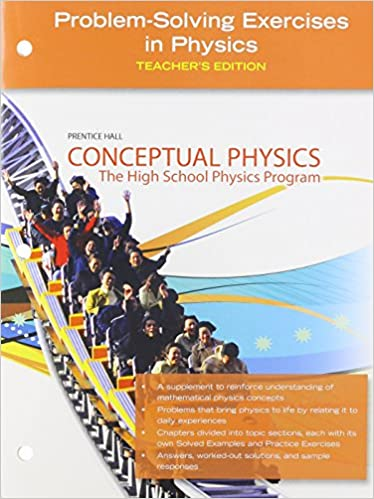 Conceptual Physics Problem Solving Excercises In Physics