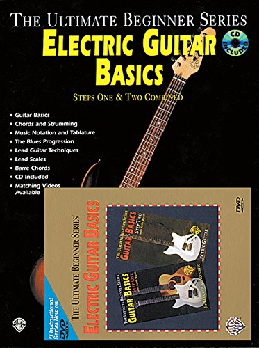 Ultimate Beginner Electric Guitar (Ultimate Beginner Electric Guitar Basics Mega Pak (Book, CD & DVD) (The Ultimate Beginner))