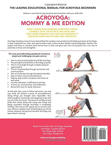 AcroYoga: Mommy and Me Edition: Volume 2: Amazon.es: Andrea ...