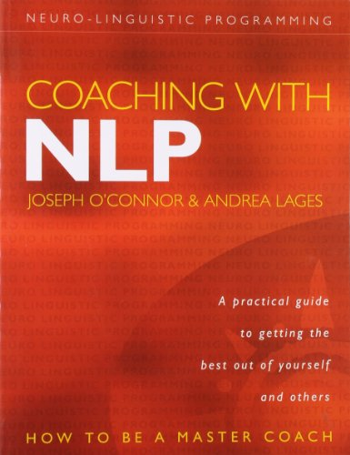 Best Book Coaching With Nlp How To Be A Master Coach By Joseph O