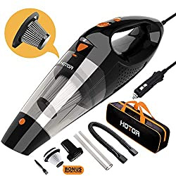 We guarantee to 【refund your money or replace the vacuum you buy without bothering you to return the unit】 if you encounter any problems with HOTOR Car Vacuum; Contact Us! Contact Us! Contact UsPlease notice that there is not an extra HEPA filter inc...
