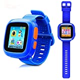 DUIWOIM Kids Smart Watch, Game Watches for Girls Boys, Digital Wrist Watch, Smart Watch for 3-12 Years, Touch Screen Camera Smartwatch Great Gift for Children(Blue)
