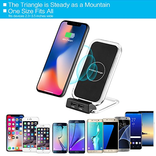 high-quality Wireless QI Charger, Accmor Fast Wireless Phone Table