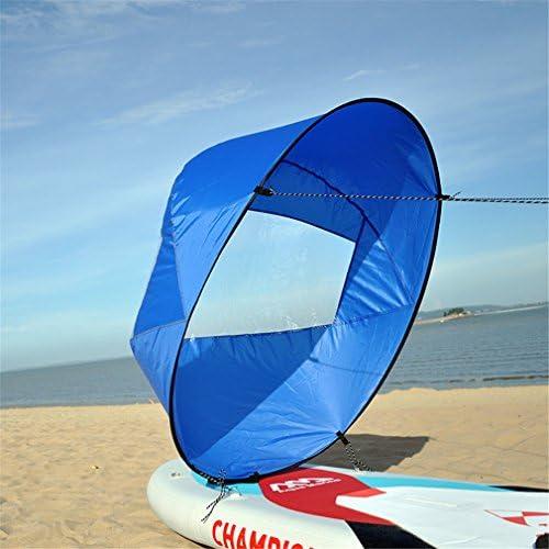 43in Kayak Canoe Downwind Wind Paddle Clear Window Popup Board Wind Sail SI