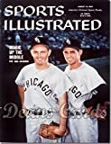 Sports Illustrated - With Label August 10 1959 - Luis Aparicio & Nellie Fox Chicago White Sox Chicago White Sox (Magazine/Publication) (Has Address Label on Front) Dean's Cards 5 - EX White Sox