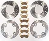 Race Driven Polaris Front and Rear Brake Rotors and Severe Duty Brake Pads