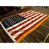 3x5 FT Indoor US American Flag With Gold Fringe US Made WindStrong®