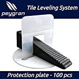 PEYGRAN Leveling System reusable PROTECTION PLATE - protect the sensitive tile and stone surface during installation with leveling system
