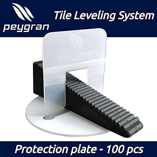 PEYGRAN Leveling System reusable PROTECTION PLATE - protect the sensitive tile and stone surface during installation with leveling system by Peygran Leveling System