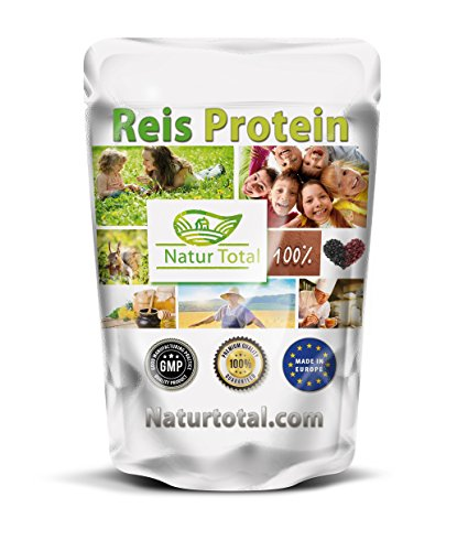 Reisprotein 80% 1000g Beutel - extrafein- geprüfte Spizenqualität - Deutsche Analyse - gut veraulich - hervorragender Soja- oder Molkeprotein Ersatz