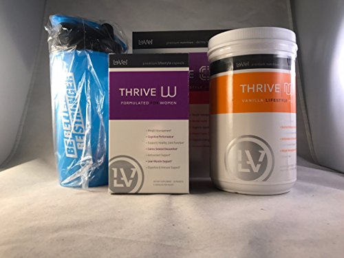 30 Day Women's Fit Kit includes Bonus Shaker Bottle (Thrive Lifestyle Mix)