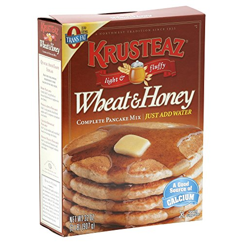 Krusteaz - Pancake Wheat & Honey Mix - 32 oz by Krusteaz