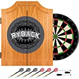 WWE Ryback Wood Dart Cabinet Set