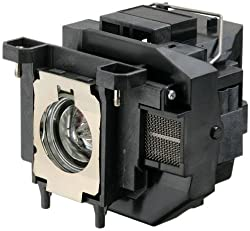 Replacement Projector Lamp Elplp67 V13h010l67 With Housing For Epson Eb S12 Eb W12 Ex3210 Ex5210 Ex7210 Powerlite 1221 Powerlite 1261w Powerlite S11 Powrelite X12 V11h433020 Vs210 Vs310 Vs315w Projectors
