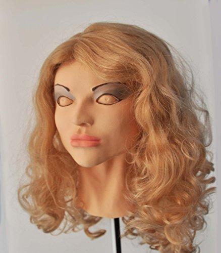 Cindy Diva Realistic Female Foam Latex Mask, Be Female
